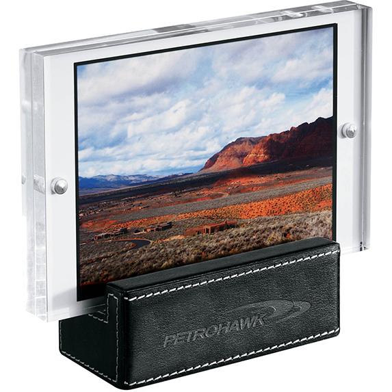 Metropolitan Acrylic & Leather Frame  - Awards Motivation Gifts
