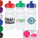20 oz.  Bottle with Push-Pull Lid