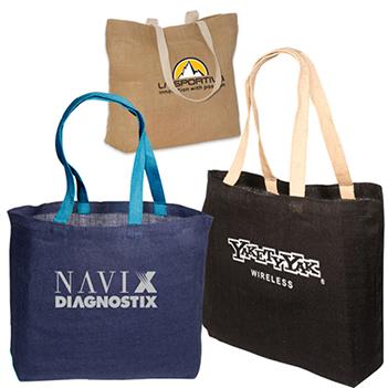Eco-Friendly Jute Tote -  - Bags