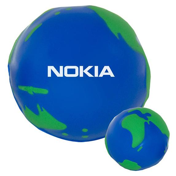 Globe Eco-Stress Ball - Puzzles, Toys & Games