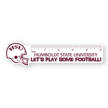 Football Poly Ruler - Awards Motivation Gifts