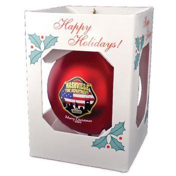 "3 1/4"" Ornament Ball - Shatterproof - Kitchen & Home Items"