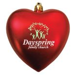 Heart Shape Tree Ornament