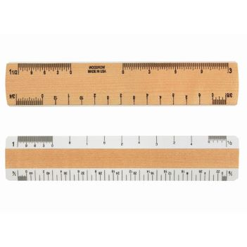 """6"""" Architectural Double Bevel Ruler - Awards Motivation Gifts"""