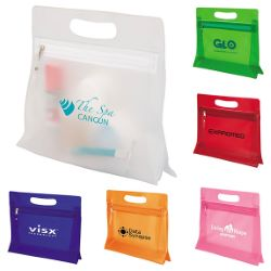 Translucent Zippered Makeup Case
