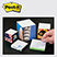 """Post-it 1/2"""" Note Cube  - Awards Motivation Gifts"""