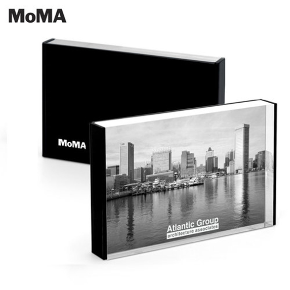 "MoMA Acrylic 4"" x 6"" Photo Frame - Awards Motivation Gifts"