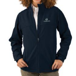 Women's Soft Shell Jacket - Polyester MicroFleece