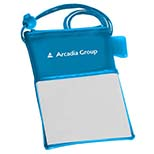 Bright Trade Show Badge Holder