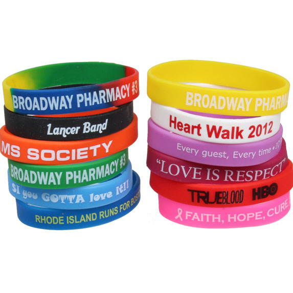 Silicon Wrist Band - Awards Motivation Gifts