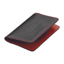 Color Bright Leather Card Case