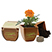 Plant in Bamboo Pot - Kitchen & Home Items