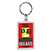Crystal Key Tag Rectangle - Travel Accessories & Luggage