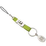 Leatherette Detachable Key Tag