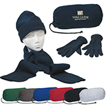 Scarf, Gloves and Hat Set