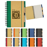 EcoSmart 5 X 7 Spiral Notebook & Pen