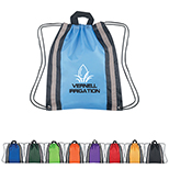Backpack with Reflective Strips