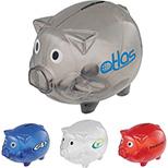 Piggy Bank with Twist Open Bottom
