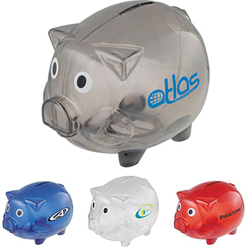 Piggy Bank with Twist Open Bottom - Puzzles, Toys & Games