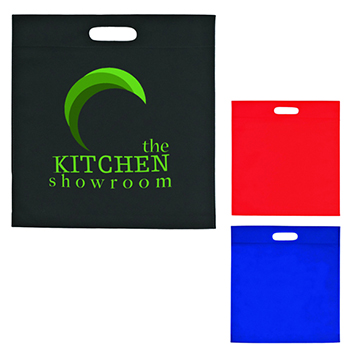 Large Heat Sealed Coated Non-Woven Tote - Bags