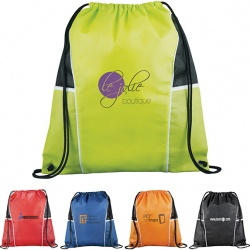 Solitaire Drawstring Backpack