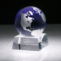 Silver and Blue Globe Award