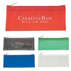 Frosted Pencil Case