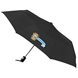 Totes Auto Open Folding Umbrella, 42 Arc
