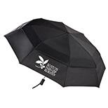 Totes Stormbeater Auto Open Folding Umbrella, 55 Arc