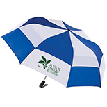 Totes Stormbeater Auto Open Folding Umbrella, 55 Arc