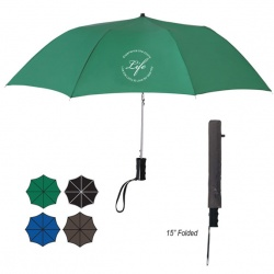 36 Arc Automatic, Telescopic Folding Umbrella
