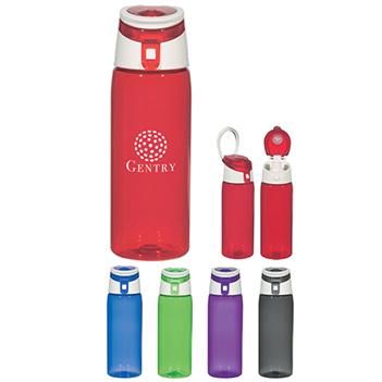 24 Oz. Flip Top Tritan Sports Bottle - Mugs Drinkware