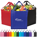 Jupiter Jumbo Non-Woven Grocery Tote