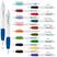 Curvy Silver Matte Ballpoint - Pens Pencils Markers