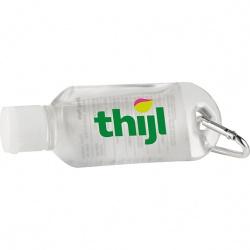 Alcohol Based Mini Carabiner Hand Sanitizer