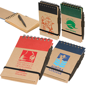 Pocket Eco-Note Keeper - Padfolios, Journals & Jotters