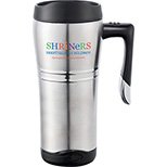 16 oz. Cutter & Buck Performance Series Travel Mug with Handle