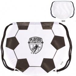 210D Nylon Soccer Drawstring Backpack