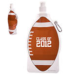 16 oz. Football Collapsible Water Bottle