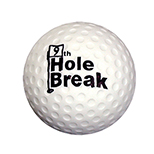 I'd Rather Be Golfing Stress Ball