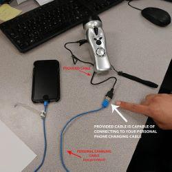 3-in-1 Emergency Flashlight Combo
