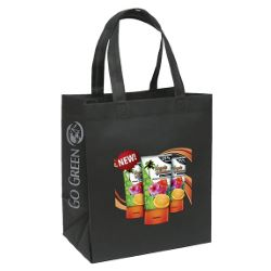 Full Color Gusseted Eco Economy Tote
