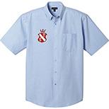 Men's Lambert Oxford Short Sleeve Shirt by Trimark