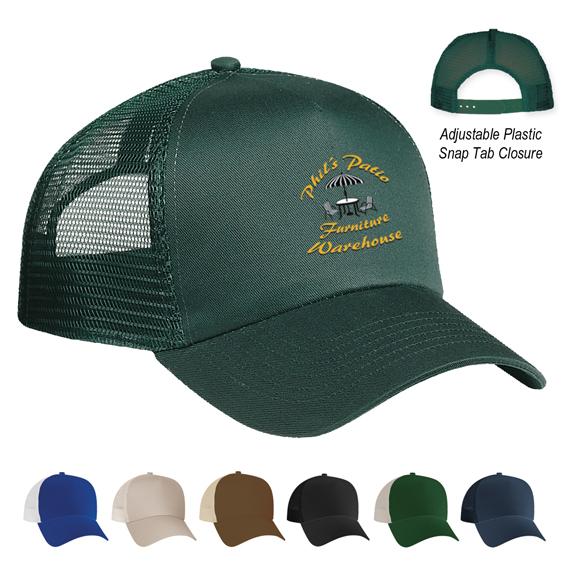 Mesh Back Baseball Cap - Apparel