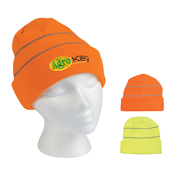 Reflective Safety Beanie - Apparel