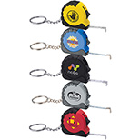 Tape Measure with Keychain