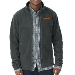 Men's Boundary Fleece Jacket by Charles River