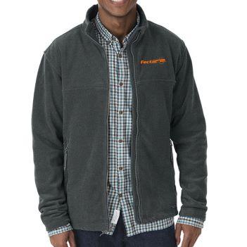 Men's Boundary Fleece Jacket by Charles River - Apparel
