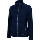 Women's Boundary Fleece Jacket by Charles River