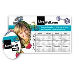 Magnetic Promotional Picture Frame Calendar